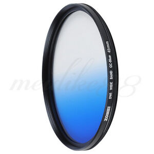 Zomei-49mm-Slim-Graduated-Grey-Blue-Orange-Red-Lens-Filter-Kit-For-Nikon-SLR-DC