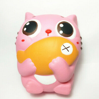 Ausdauernd Kitty Squishy Slow Rising Jumbo Squeeze Fun Squishies Gift Cute Toys