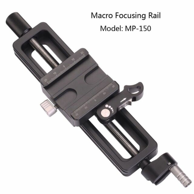 Leofoto MP-150 MP150 Standard Macro Focusing Rail Slider Arca Swiss Compatible