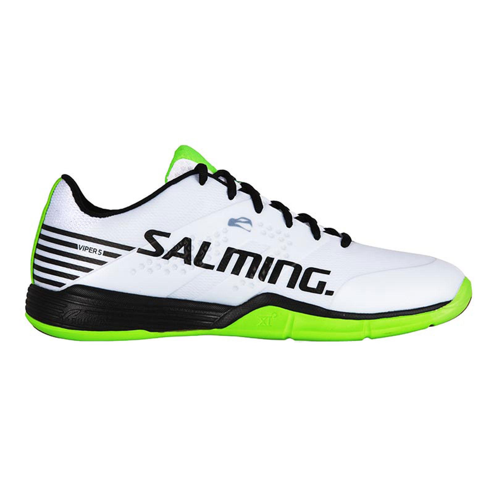 Salming Viper 5 Men Indoor Handball Sport Shoes Trainers white 1238071 0701 WOW