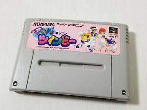 Nintendo Super Famicom Pop'n TwinBee Shooter Japan