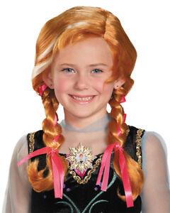 Disney-Frozen-Princess-Anna-Wig-Girls-Child-Fancy-Dress-Party-Costumes-Accessory