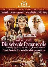 Die siebente Papyrusrolle, 3 Teile, KOMPLETT,  2 DVD Set NEU + OVP!