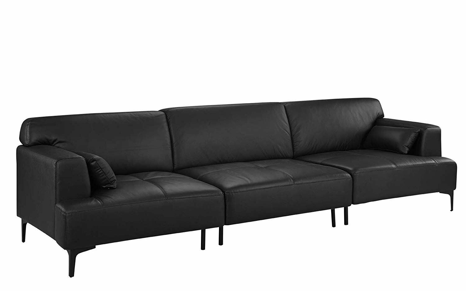 Extra Large Living Room Leather Sofa