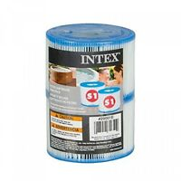 Intex Type S1 Filter Cartridge For Purespa, Twin Pack on sale