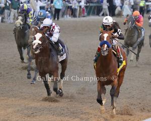"Justify 2018 Belmont Stakes Remote Photo 8/"" x 10-24/"" x 30/"""