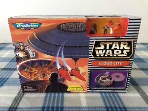 VINTAGE-NIB-1997-Star-Wars-Micro-Machines-Cloud-City-Playset-Galoob-65995