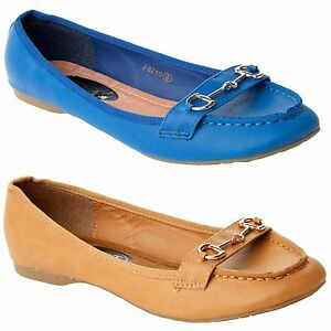 NEW-WOMENS-FLAT-SMART-CASUAL-LOAFERS-PUMPS-SHOES-LADIES-UK-SIZE-4-8