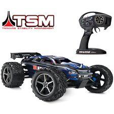 NEW Traxxas E-Revo 56036-4 RTR 16.8V Electric 4WD Truck BLUE w/TSM Stability
