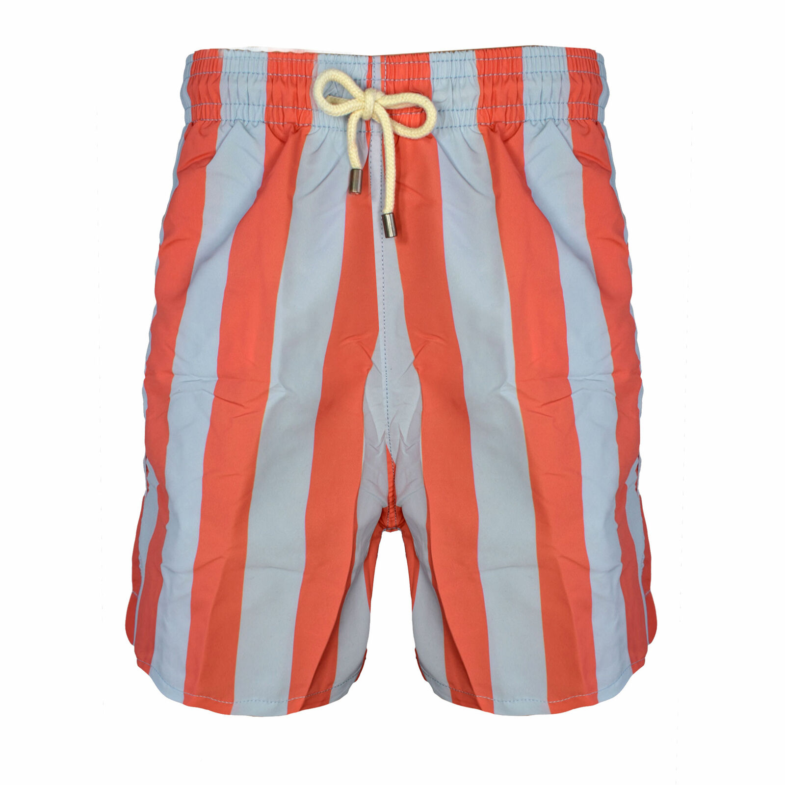 Solid & Striped Men's The Classic Swim Trunks, Coral Ash bluee