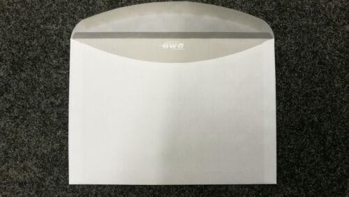 1000 Briefumschläge C5 162 x 229mm Fenster nassklebend weiß maschinentauglich