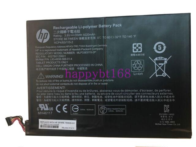 35Wh Original Battery MLP3383115-2P For HP Pavilion X2 10-K010NR 10-K00 Series