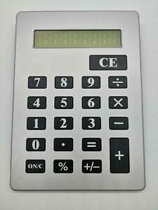 NEW Giant Calculator Black Extra Large Big Jumbo Huge Buttons 8 Digit LCD US