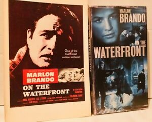 On-the-Waterfront-1954-film-VHS-and-Movie-Tie-In-Paperback-Marlon-Brando