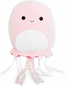 Squishmallow-Kellytoy-8-034-Pink-Jellyfish-Stuffed-Animal-Super-Pillow-Soft-Plush