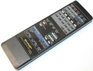 Sharp-G0453GE-VCR-Video-Cassette-Remote-Control-for-Model-VC2208-VC2208U-VCA207