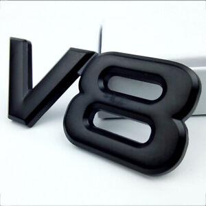 Auto-Aufkleber-Abzeichen-Emblem-Aufkleber-fuer-V8-Logo-Motor-Emblem-Auto-styling