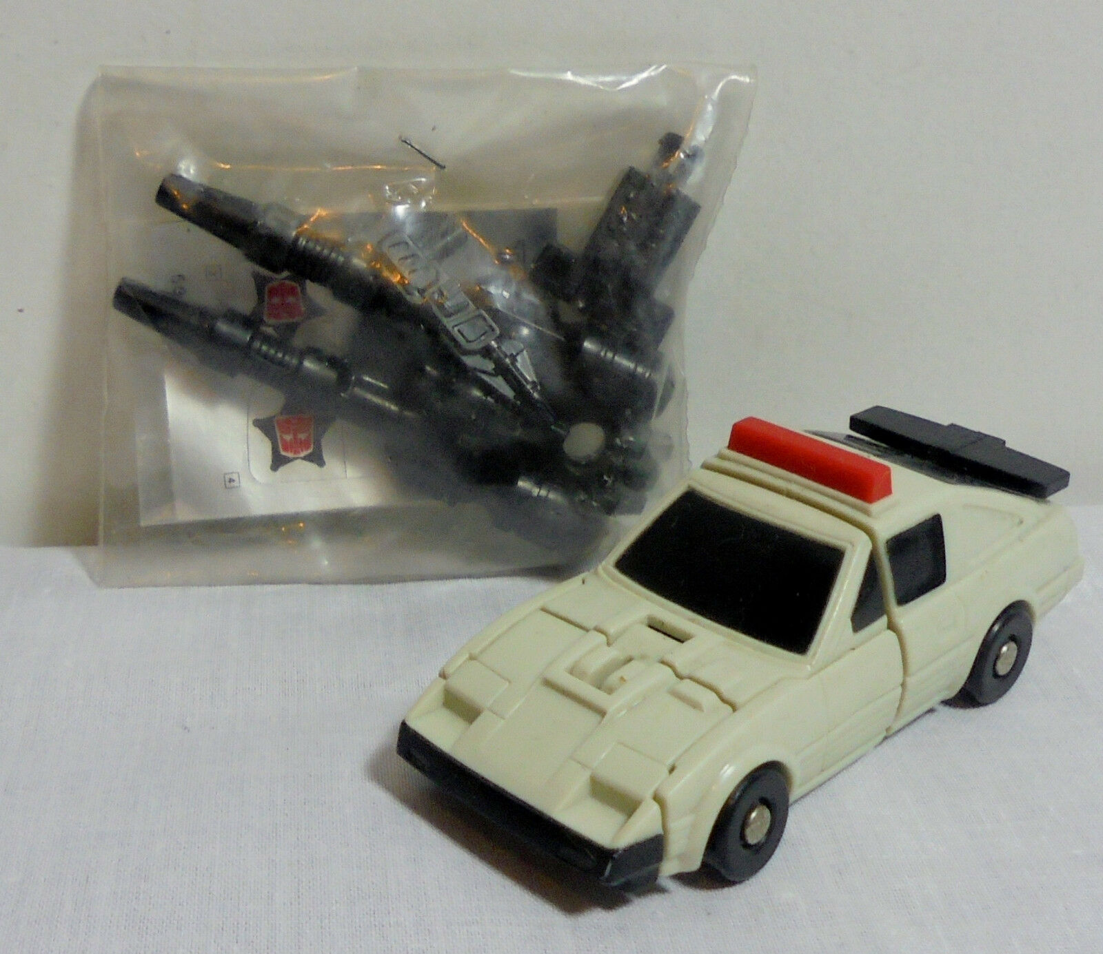 TRANSFORMERS G1 1986 EL GRECO STREETWISE G1 ROBOT FROM GREEK EASTER CANDLE