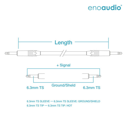 L,R Mogami 2534 Quad Stereo Paar KabelNeutrik Gold 6,3mm TS klinkeHiFi
