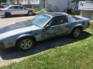 1986 Chevrolet Camaro Sport [PART OUT]