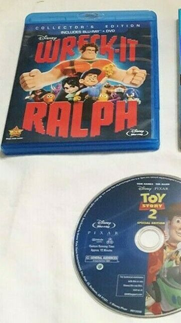 Lot of 2 BLURAY Movies - TOY STORY 2 WRECK IT RALPH | eBay Wreck It Ralph Trailer Toy Story