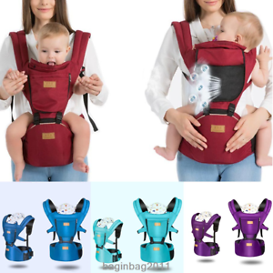 Backpacks & Carriers Nice Baby Carriers Prevent O-type Legs 3 In 1 Safety Breathable Infant Backpack Adjustable Pouch Wrap Hipseat To Be Distributed All Over The World