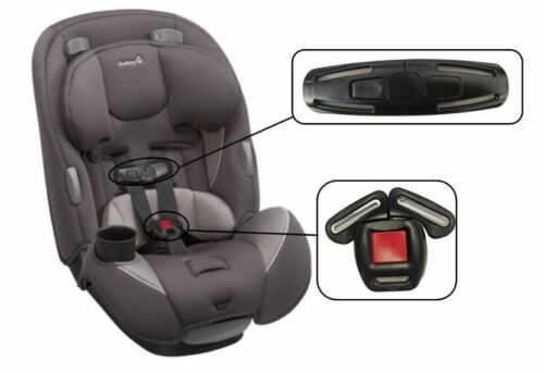 Safety 1st Continuum 3-In-1 Convertible Car Seat Harness Chest Clip /& Buckle Set
