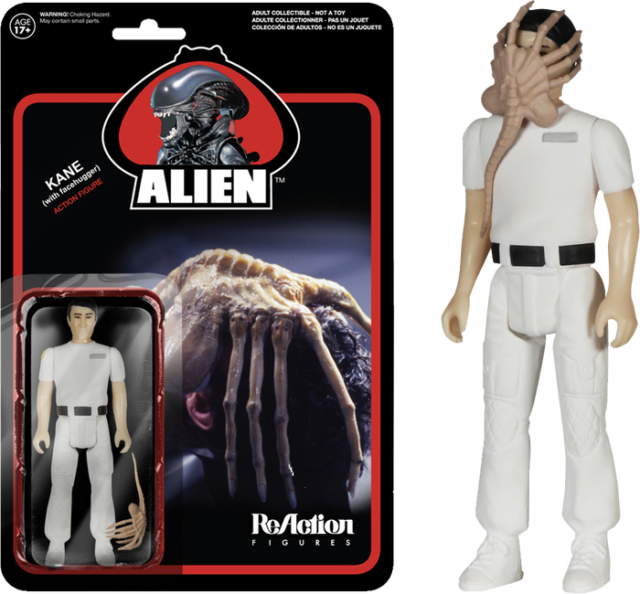 "2""-4"" Figures--Alien - Facehugger Kane ReAction Figure"