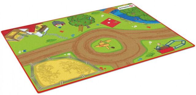 Schleich 42442 - Spielteppich Bauernhof Latexfrei 133 x 95 x 0,5 cm