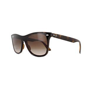 956691b8242 Ray-Ban Sunglasses Blaze Wayfarer 4440N 710 13 Light Havana Brown ...
