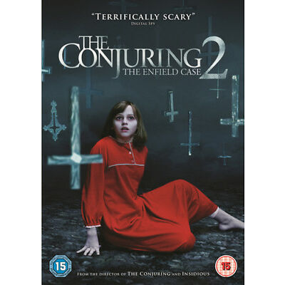 The Conjuring 2 - The Enfield Case DVD (2016) Patrick Wilson ***NEW***