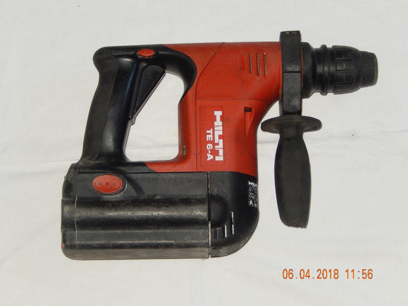 hilti bohrhammer te 6-a akku werkzeug accu bohrmaschine te6-a | ebay