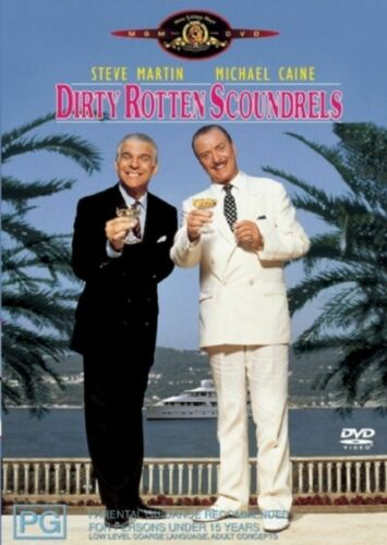 1 of 1 - Dirty Rotten Scoundrels (1988) Steve Martin, Michael Caine - NEW DVD - Region 4