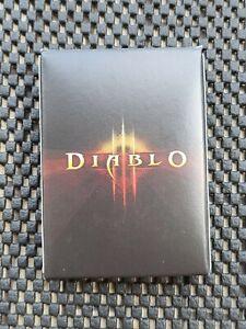 Blizzard Blizzcon Poker Set Diablo 3 playing card deck World Warcraft Starcraft