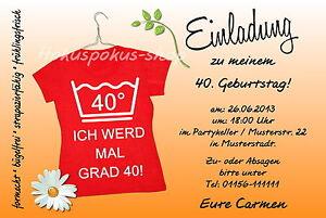 40 Witzige Einladungskarten Frauen Geburtstag Einladungen Jedes