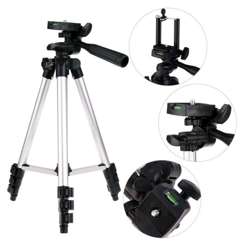 TRIPOD STAND MOUNT HOLDER FOR DIGITAL CAMERA CAMCORDER PHONE IPHONE DSLR SLR UK