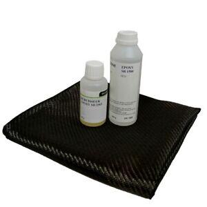 kit-Resine-EPOXY-de-stratification-399-gr-coupon-50x50-cm-CARBONE-200-gr-m