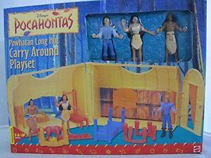 Disney-Princesa-Pocahontas-Powhatan-largo-choza-llevar-Playset