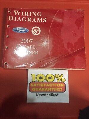 2007 Ford Mercury Dealer Electrical Wiring Diagram Manual ...
