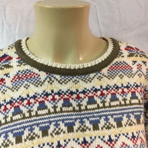 Bowie Vibes Liz Claiborne Youth Sweater Size Med