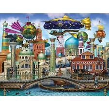 LPF HOLOGRAPHIC PUZZLE ARANETIAN CITY SERGIO BOTERO 1000 PCS #7350
