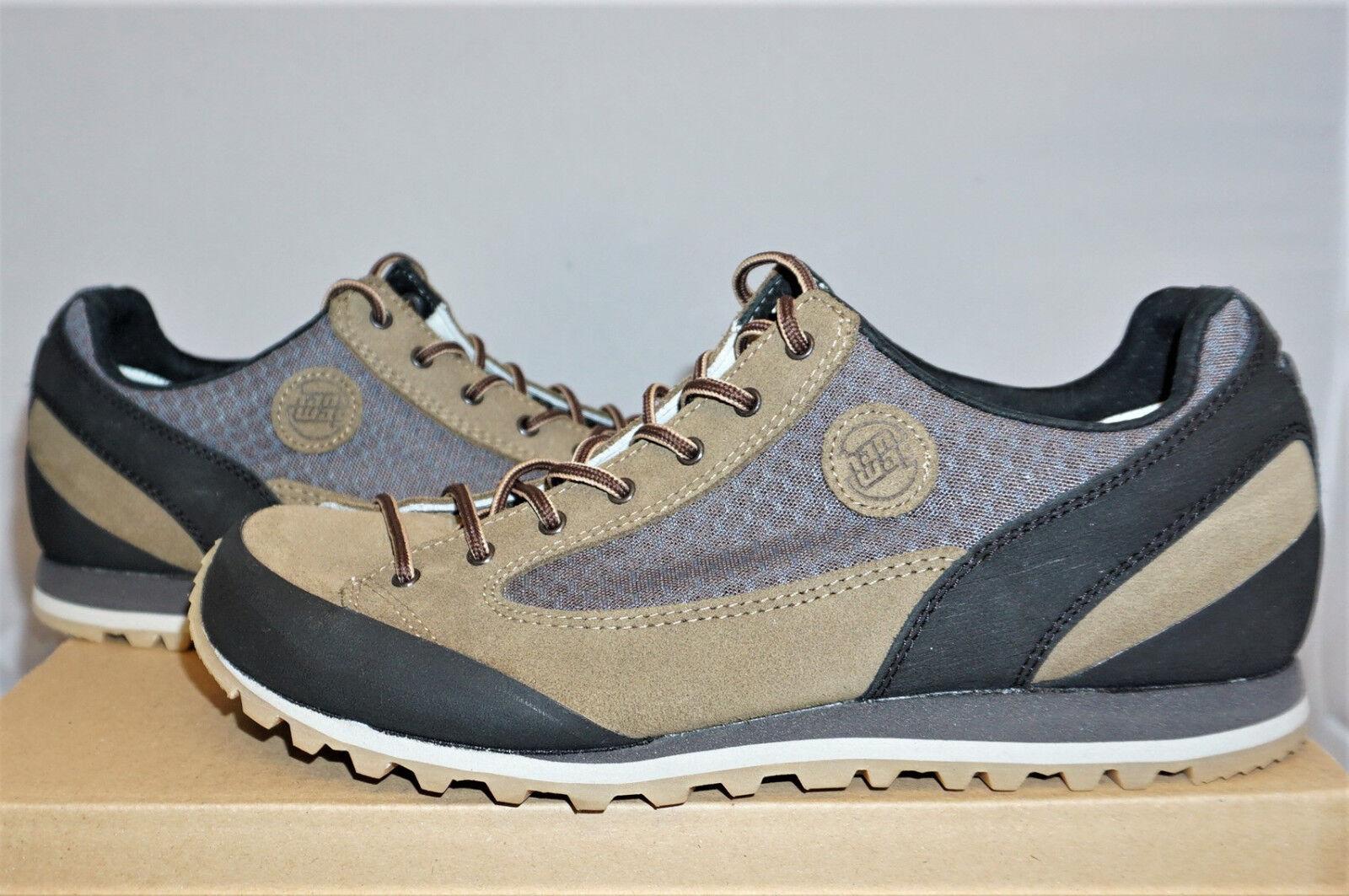 Hanwag salt Rock UE 40,5 us 8 botín de senderisml cuero montaña zapatos nuevo