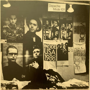 DEPECHE-MODE-101-2-LP-MUTE-UK-FIRST-PRESS-BOOKLET-EX-CONDITION-PRO-CLEANED