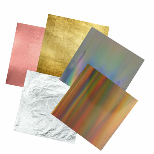 Toner Foil Roll Laminator Holographic Silver Gold Rose Gold Samples Available