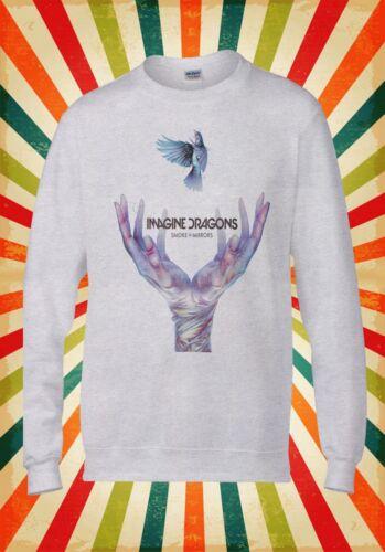 Imagine Dragons I Bet My Life Retro Men Women Unisex Top Hoodie Sweatshirt 122E