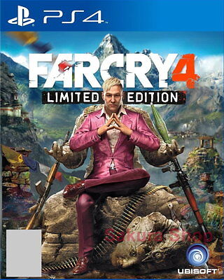 New Sony PlayStation 4 PS4 Games Far Cry 4 HK Version English Subs