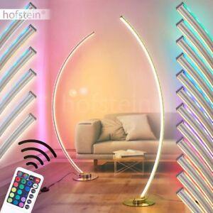 Design Steh Stand Lampe LED Farbwechsler Wohn Schlaf Raum Leuchte Fernbedienung
