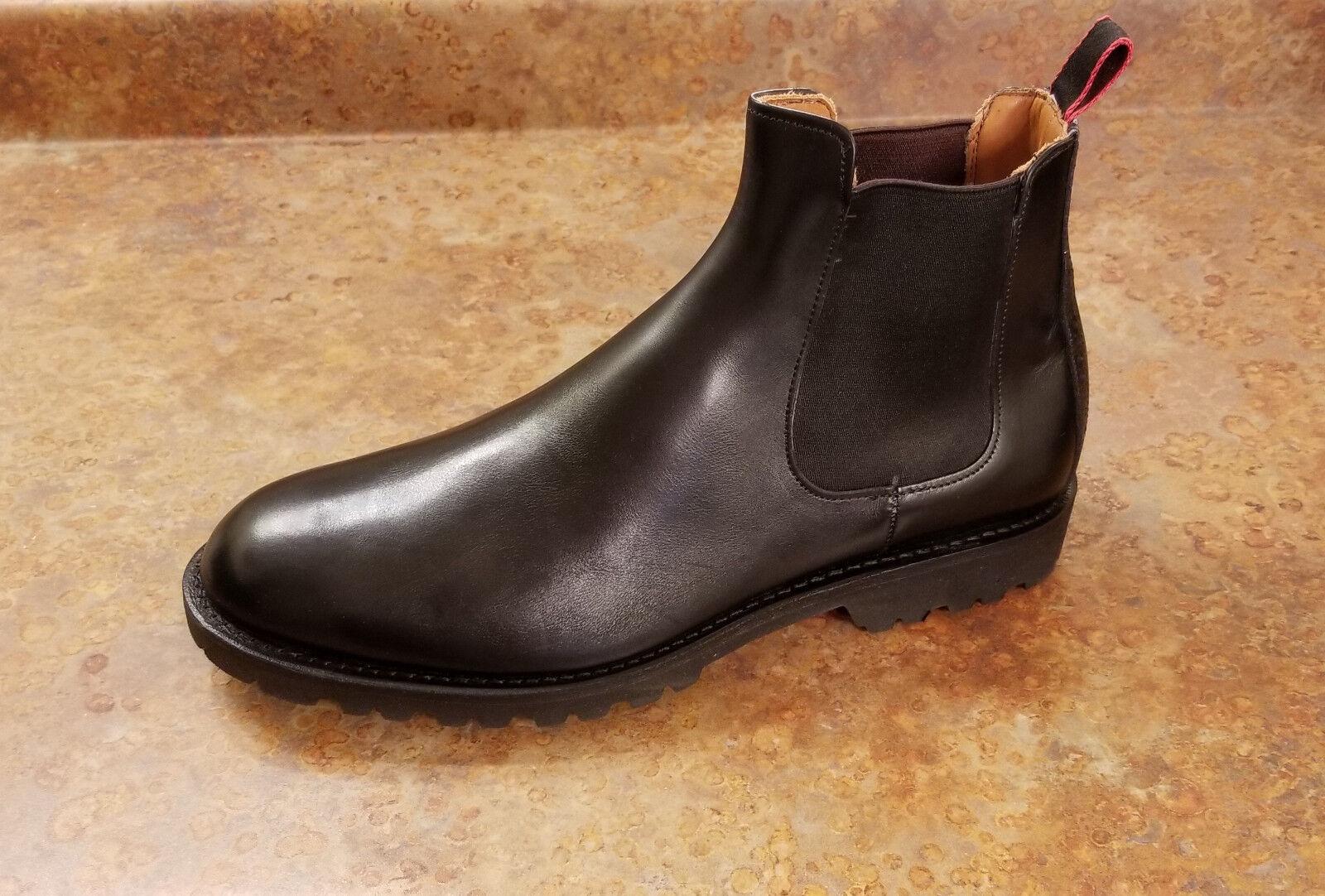 New  Allen Edmonds 'Tate' 'Tate' 'Tate' nero Leather Chelsea stivali Mens 11.5 3E MSRP  345 2593c4