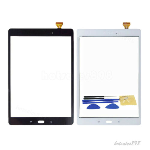 New For Samsung Galaxy Tab A 9.7 SM-T550 Touch Digitizer Screen Glass Lens+Tools