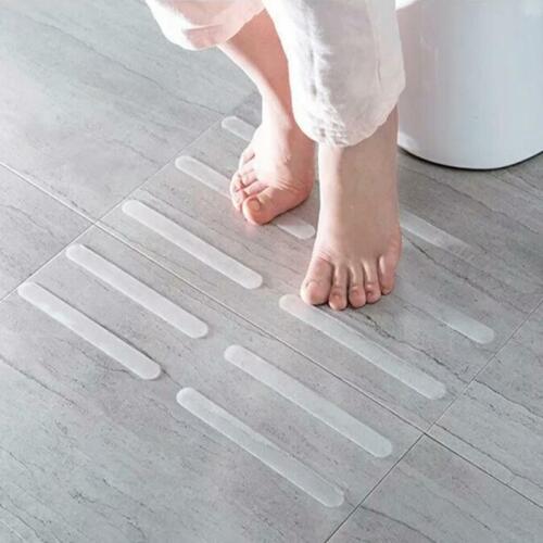 5X Anti-Slip Strips For Bath And Shower Self-Adhesive Non-Slip Transparent BT3
